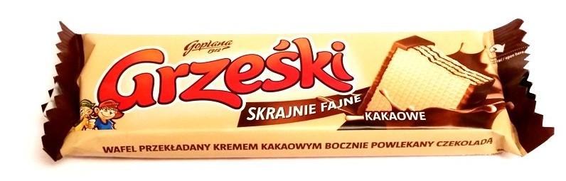Goplana, Grześki skrajnie fajne kakaowe (1)