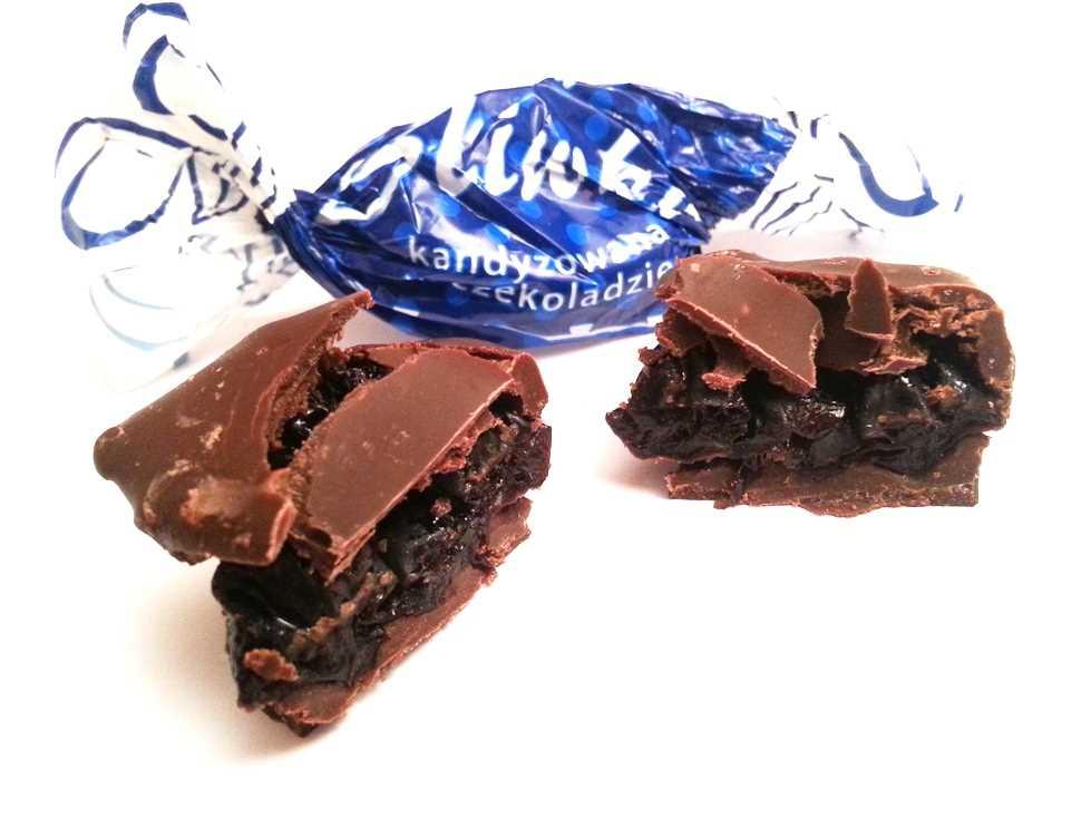 Śliwka kandyzowana w czekoladzie Luximo Premium