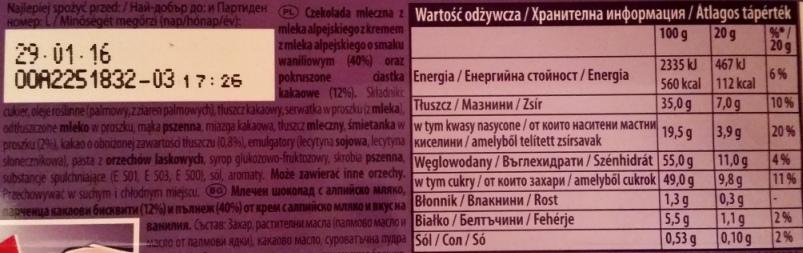 Milka Oreo 100 g tabliczka (1)