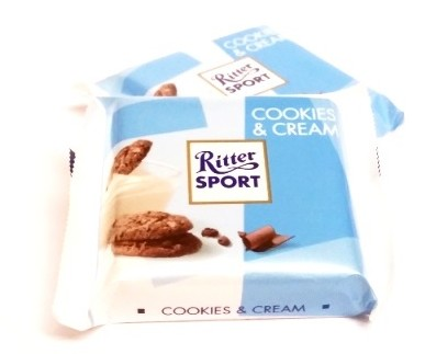 Ritter Sport, Cookies and Cream mini 2016 (1)