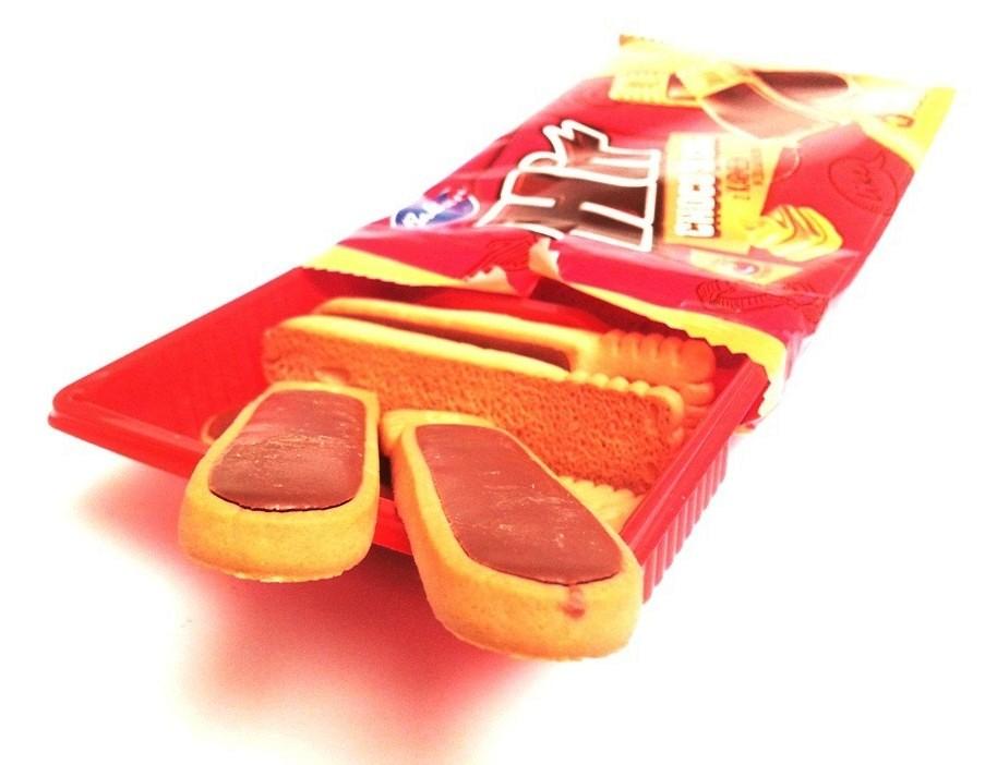 Bahlsen, Hit Choco Sticks z karmelem w czekoladzie (5)