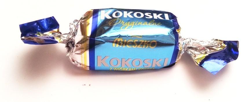 Cukierki Mieszko Kokoski z wiórkami kokosa Oryginalne (3)