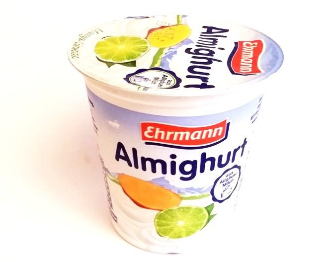 Ehrmann, Almighurt Mango Limette