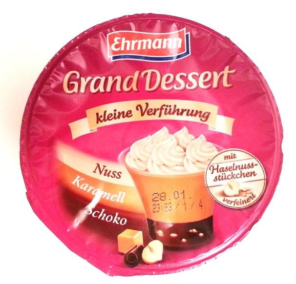 Ehrmann Grand Dessert kleine Verführung Nuss-Karamell-Schoko (1)