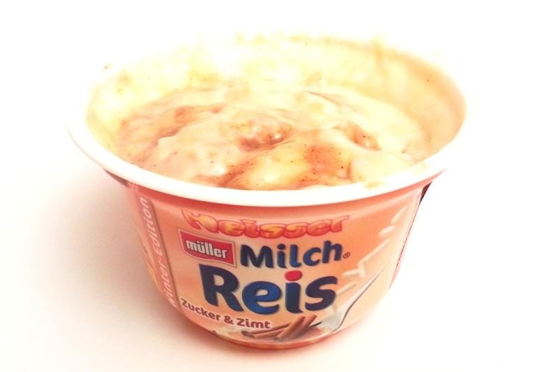 Muller, Winter-Edition Heisser Milch Reis Zucker & Zimt, Apfelstrudel (6)