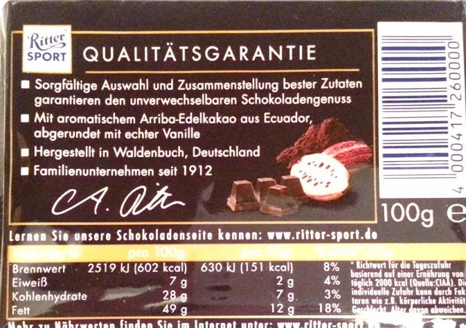 Ritter Sport Edel-Bitter 73 kakao (7)