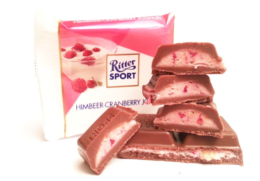 Ritter Sport mini Sommer-Mix Himbeer-cranberry joghurt (1)