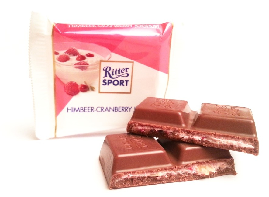 Ritter Sport mini Sommer-Mix Himbeer-cranberry joghurt (2)