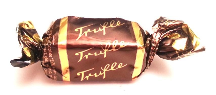 Odra, Trufle, cukierki czekoladowe na wage z alkoholem, stara szata graficzna, copyright Olga Kublik
