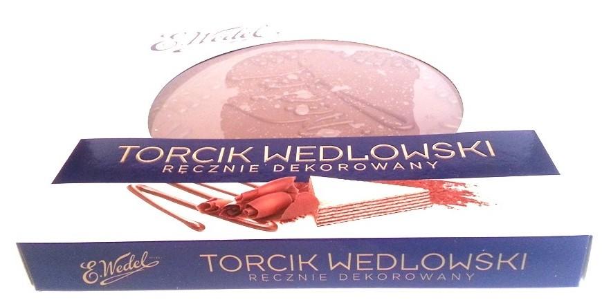 Wedel Torcik Wedlowski ręcznie dekorowany