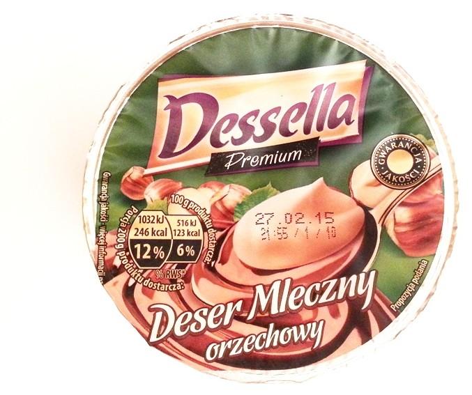 Ehrmann, Dessella Premium Deser mleczny orzechowy (1)