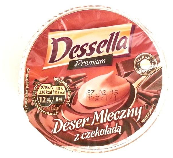 Ehrmann, Dessella Premium Deser mleczny z czekoladą (1)