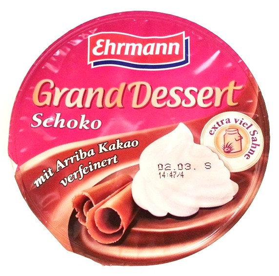 Ehrmann, Grand Dessert Schoko (1)