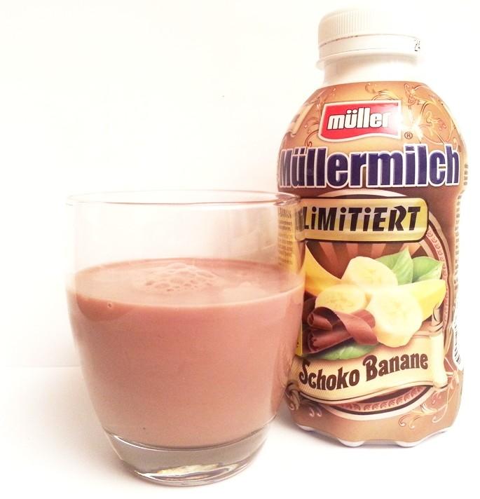 Muller, Mullermilch czekoladowo-bananowy limitowana edycja (1)