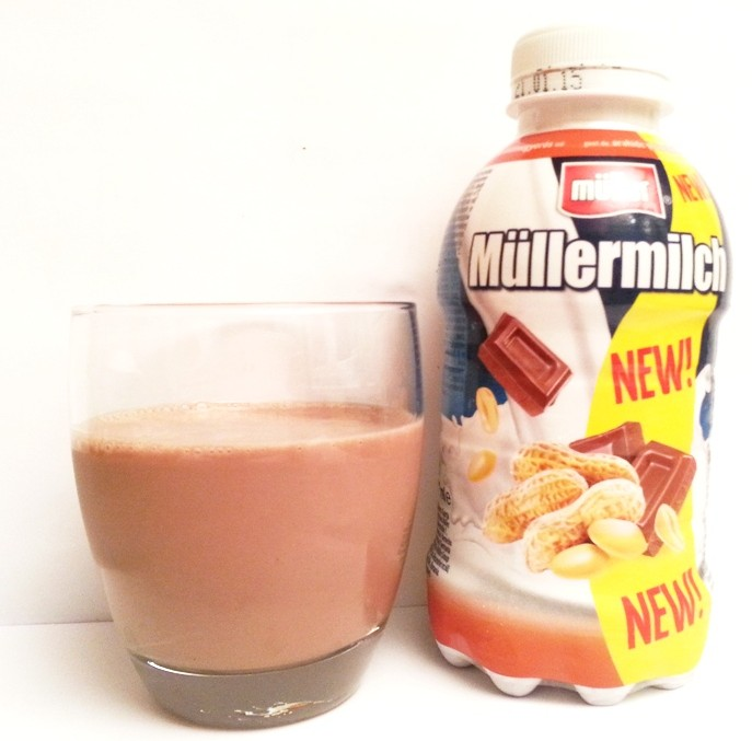 Muller, Mullermilch fistaszki w czekoladzie nowość (1)