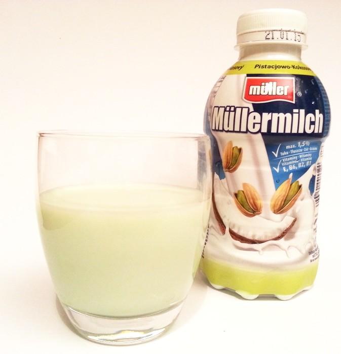 Muller, Mullermilch pistacjowo-kokosowy (1)