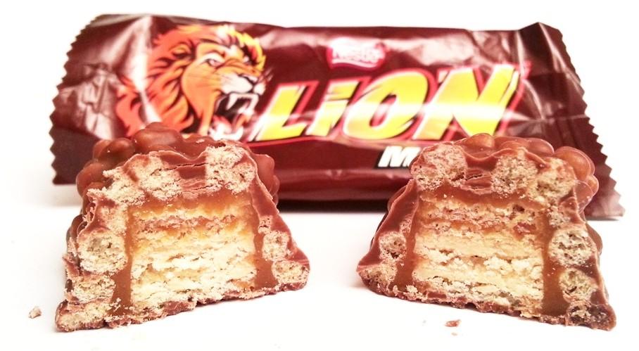Nestle, Lion w kakaowej polewie (2)