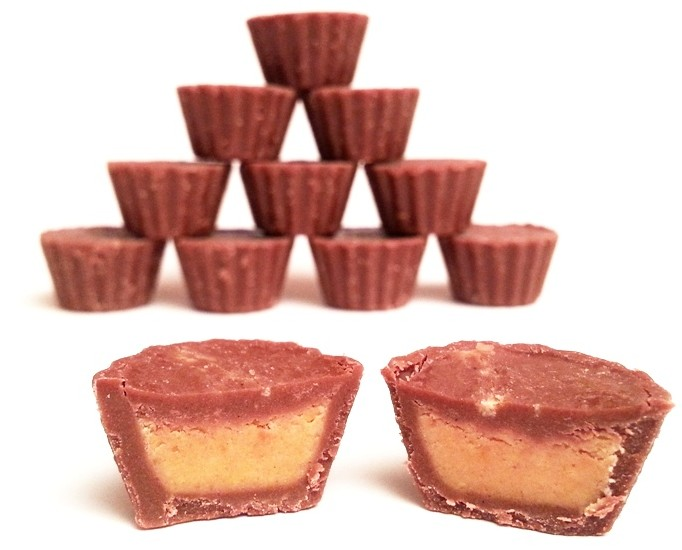 Reese's Peanut Butter Cups minis unwrapped mini cups (3)