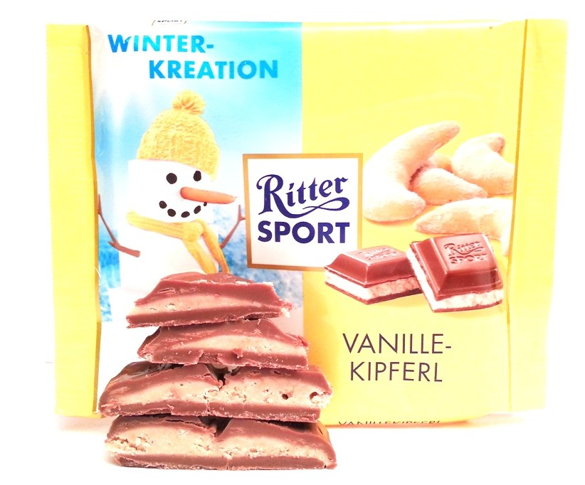 Ritter Sport Winter-Kreation Vanillekipferl 100 g (5)