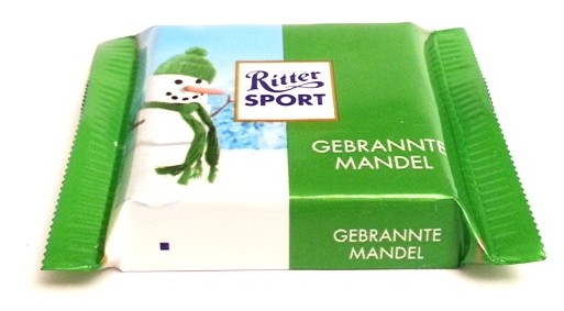 Ritter Sport mini Winter-Kreation Gebrannte Mandel (1)