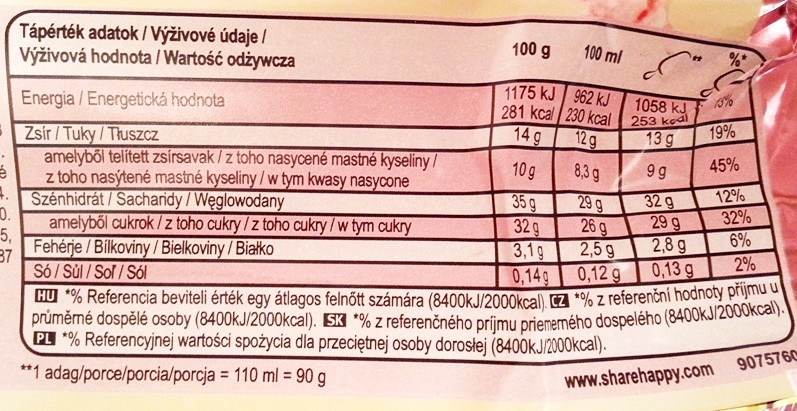 Algida, Magnum Strawberry and White truskawka biała czekolada (2)