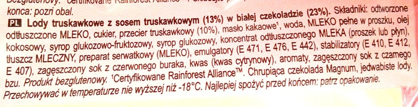 Algida, Magnum Strawberry and White truskawka biała czekolada (4)