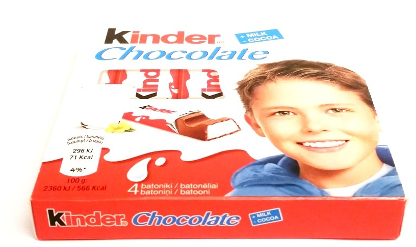 Ferrero, Kinder Chocolate (1)