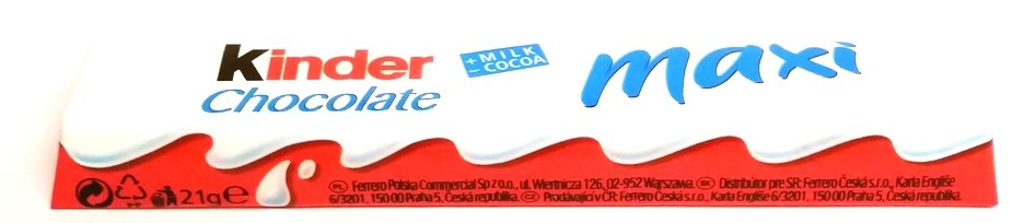 Ferrero, Kinder Chocolate Maxi (1)