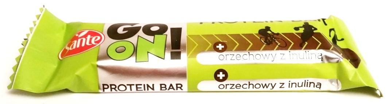 Go On protein bar orzechowy z inuliną Sante  (1)