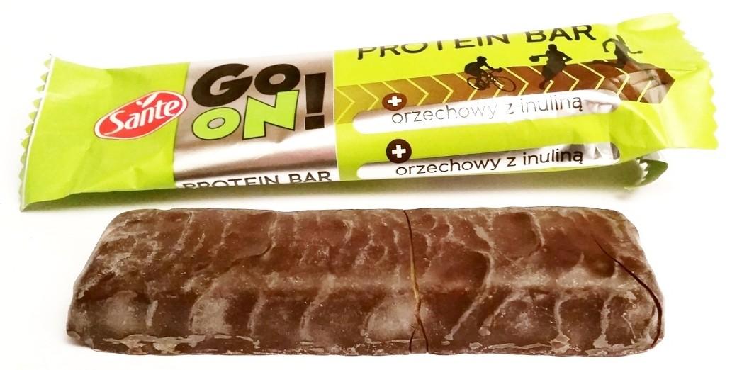 Go On protein bar orzechowy z inuliną Sante (4)