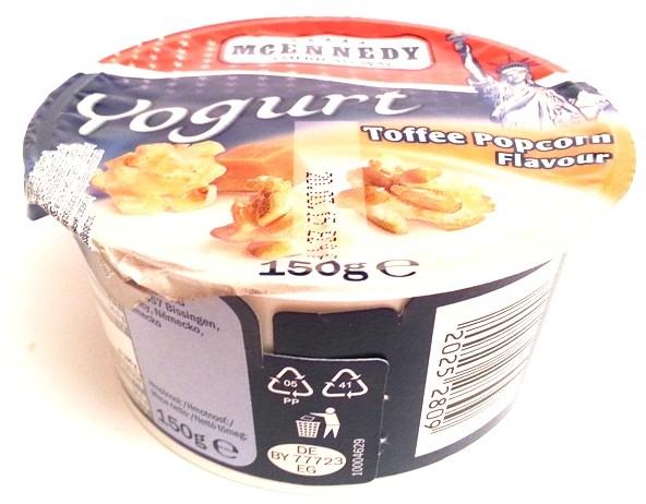 Lidl Tydzień Amerykański McEnnedy, Yogurt Toffee Popcorn Flavour (1)