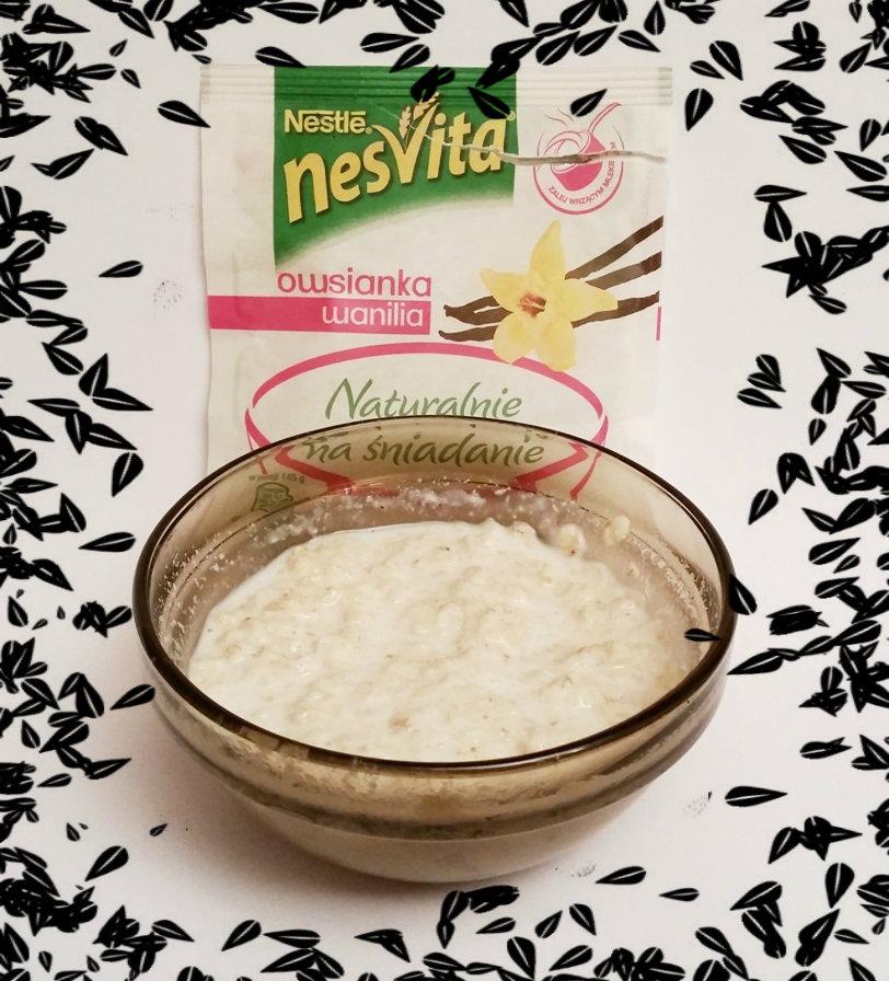 Nestle, NesVita Naturalnie na śniadanie owsianka wanilia ramka