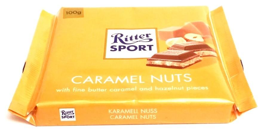 Ritter Sport, Karamell Nuss Caramel Nuts karmel orzechy (1)
