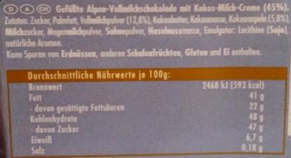 Ritter Sport, Kokos (2)