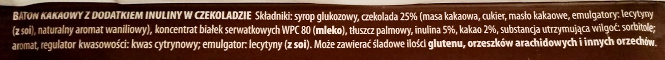 Sante, Go On protein bar kakaowy z inuliną (3)