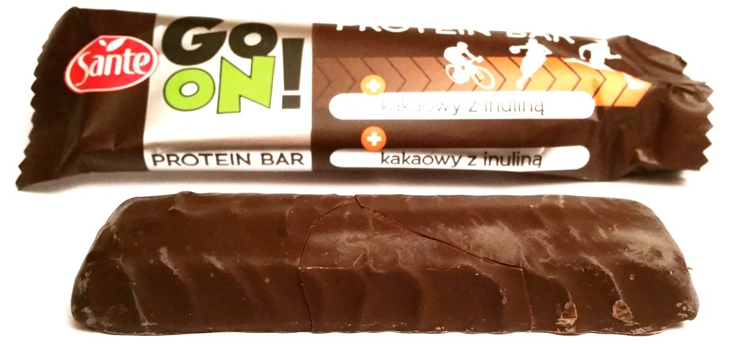 Sante, Go On protein bar kakaowy z inuliną (4)