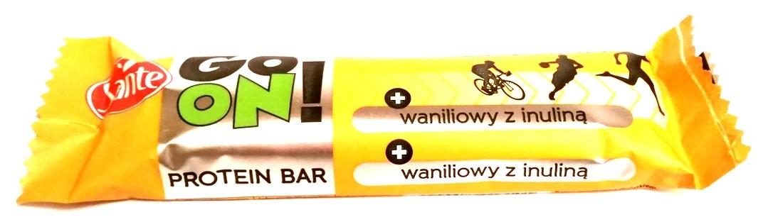 Sante, Go On protein bar waniliowy z inuliną (1)