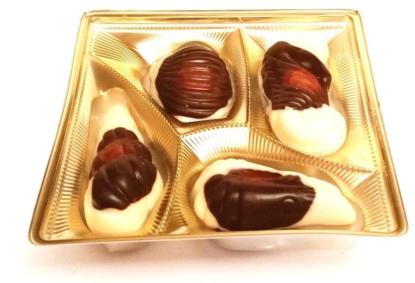 Vobro, Frutti di Mare mleczny toffi kakaowy orzechowy (2)