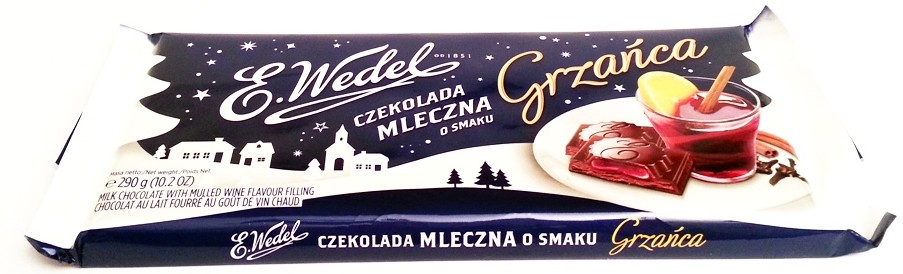 Wedel, Czekolada mleczna o smaku Grzańca zima 2014 2015 (1)