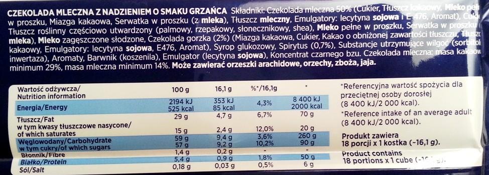 Wedel, Czekolada mleczna o smaku Grzańca zima 2014 2015 (17)