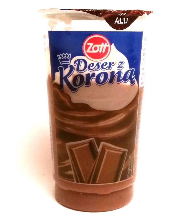 Zott, Deser z koroną czekoladowy (1)