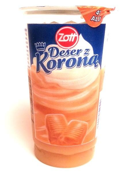 Zott, Deser z koroną karmelowy (1)