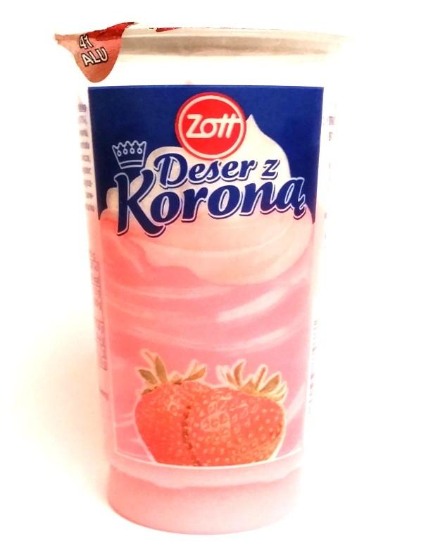 Zott, Deser z koroną truskawkowy (1)