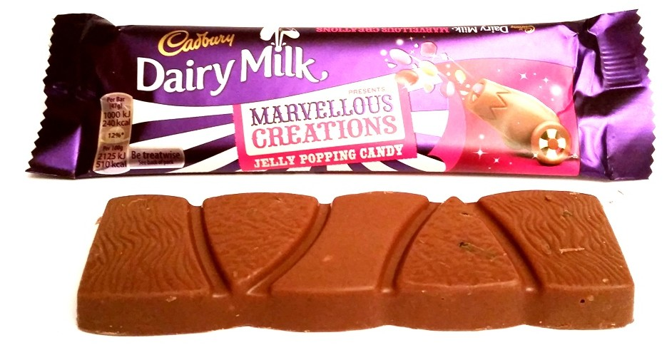 Cadbury, Dairy Milk Marvellous Creations Jelly Popping Candy (1)