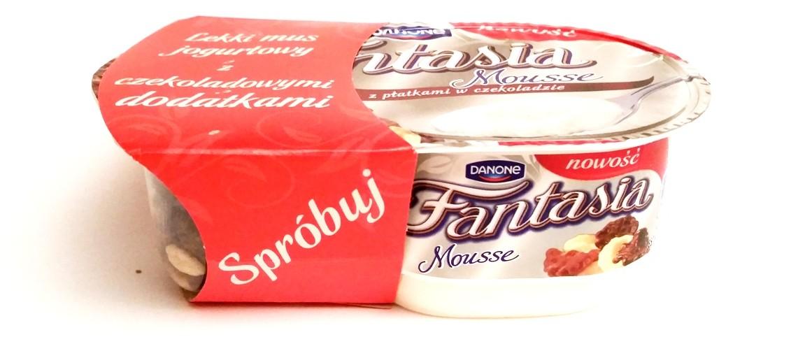 Danone, Fantasia Mousse z płatkami czekoladowymi (1)