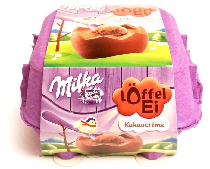 Milka, Loffel Ei Kakaocreme (1)