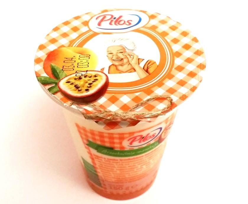 Pilos, jogurt Brzoskwinia-marakuja (1)
