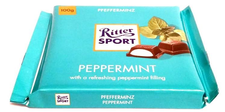 Ritter Sport, Pfefferminz Peppermint (1)