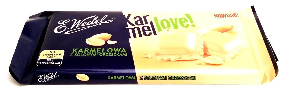 Wedel, Karmellove karmelowa z solonymi orzeszkami (1)