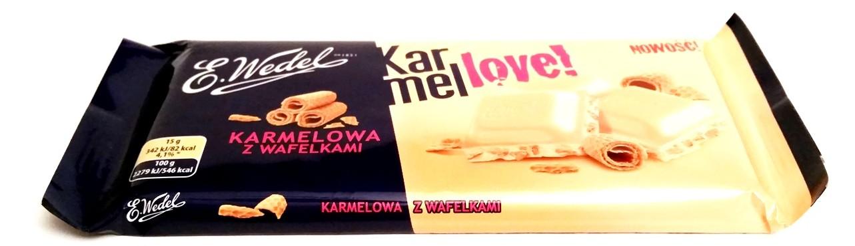 Wedel, Karmellove karmelowa z wafelkami (1)